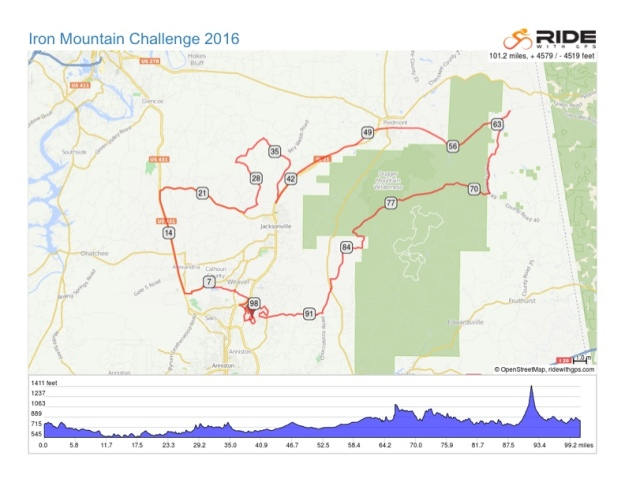 Iron Mountain Challenge